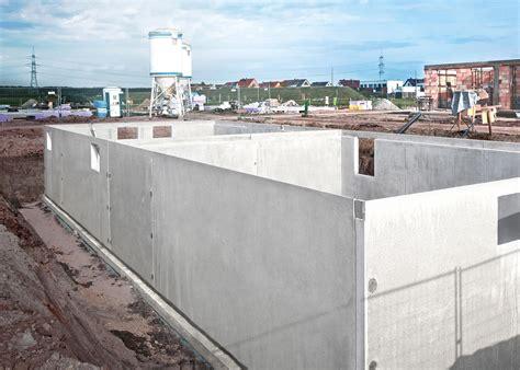 Kellerbau Aus Stein Oder Beton by Dennert Baustoffwelt Fertigkeller Base