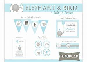 8 Best Images of Elephant Boy Baby Shower Printables ...