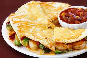Parmesan Crusted Shrimp Quesadillas Gimme Some Oven