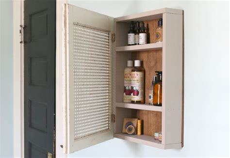 build a medicine cabinet how to build a medicine cabinet with pictures ehow