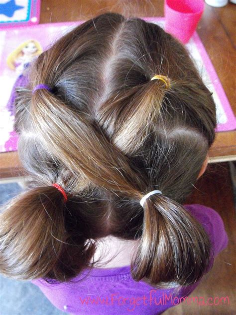girls easy hairstyles  school google search