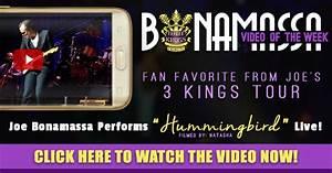 "Joe Bonamassa performs ""Hummingbird"" Live!"