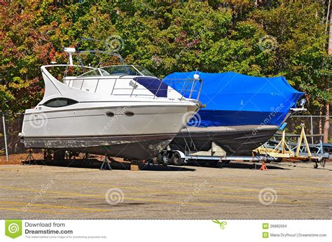 Boat Shrink Wrap Images by Boat With Shrink Wrap Stock Photo Image Of Bold Autumn