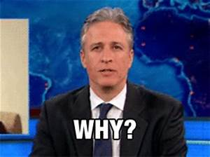 Confused Jon Stewart GIF - Find & Share on GIPHY
