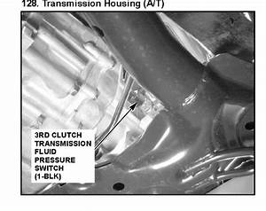 Can You Tell Me Where The 3rd Gear Pressure Switch Is