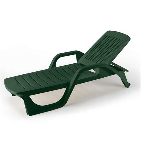 chaise longue de plage 25 bains de soleil lits plage plastique piscine transats