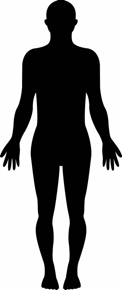 Silhouette Human Clipart Icon Svg Standing Shape