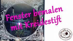 Fenster Bemalen Weihnachten : fenster bemalen mit kreidestift youtube ~ Watch28wear.com Haus und Dekorationen