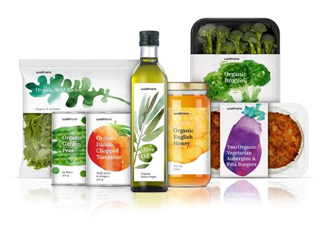 cuisine concept wadmans organic food concept on packaging of the