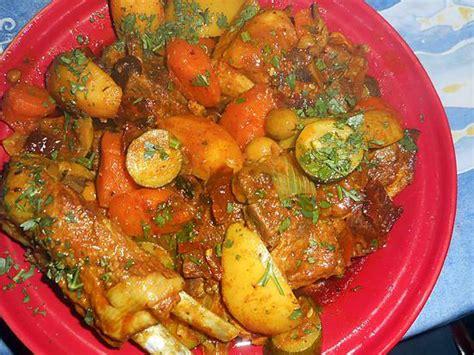 cuisine marocaine tajine agneau recette de tajine d agneau aux olives violettes et citrons
