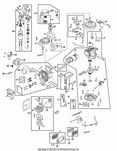 Mtd 12ae46ja001  2009  Parts Diagram For Engine Assembly