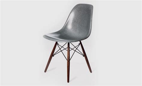 the modernica fiberglass side shell chair in krink s