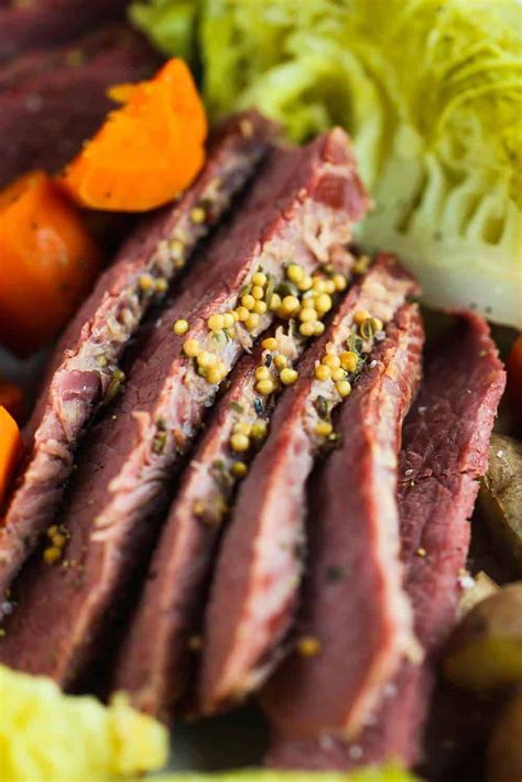 Instant pot corned beef and cabbage transforms traditional ingredients into a tender and flavorful pressure cooker meal. Instant Pot Corned Beef with Cabbage | Recipe in 2020 | Corned beef, Corn beef and cabbage ...