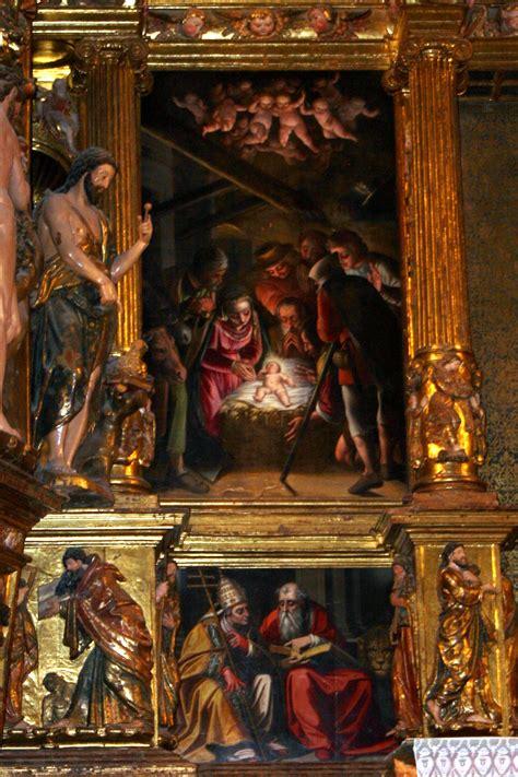 File:Alonso Sánchez Coello Adoración de los Pastores