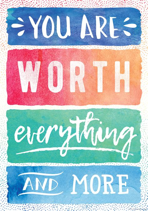 worth everything poster