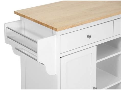 meryland white modern kitchen island cart baxton studio meryland kitchen island 9742