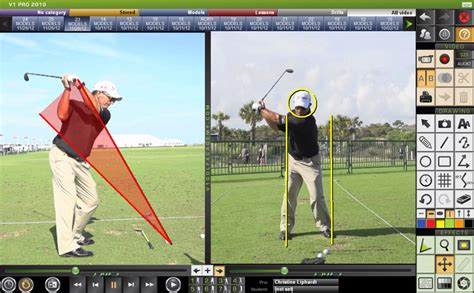 golf swing analysis software reviews v1 swing analysis software swingthought