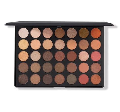 os nature glow shimmer eyeshadow palette morphe