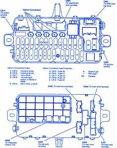 Honda Del Sol 2007 Main Fuse Box  Block Circuit Breaker Diagram  U00bb Carfusebox
