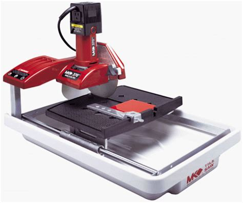 Mk 170 Cutting Tile Saw by Mk Mk 370 1 2 Horsepower 7 Inch Tile Saw