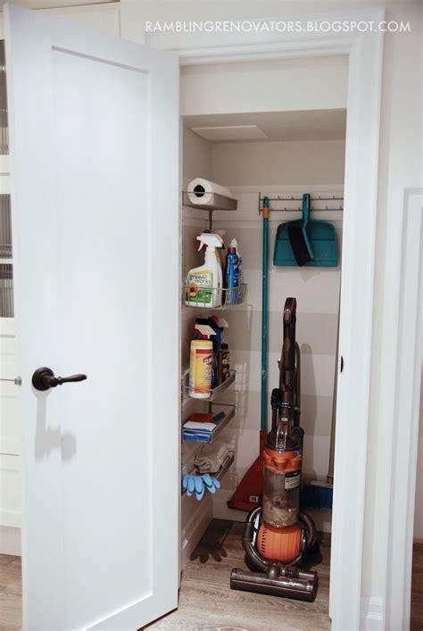 Small Broom Closet Organization Ideas 25 best broom closet images on organizers