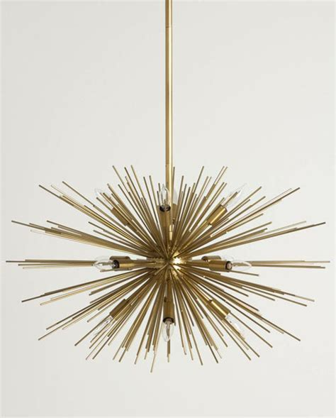 Astra Chandelier: Sputnik Fillament Light Fixture: NOVA68.com