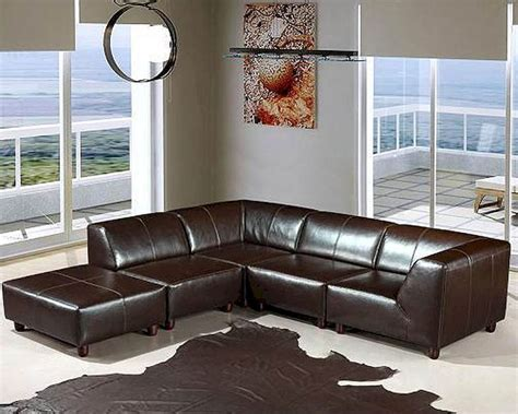 Home Sectional Sofa by Espresso Leather Sectional Sofa Set 44ldmo