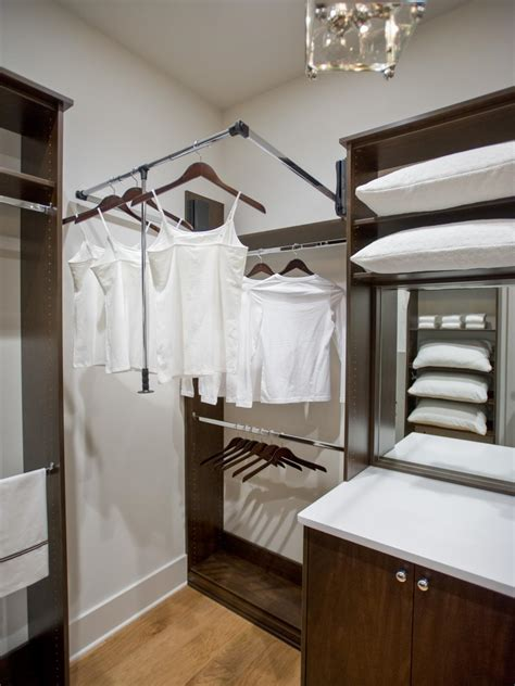 Closet Bay by Master Closet With Custom Built In Storage System Hgtv