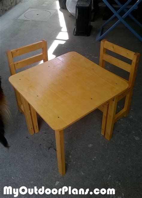 diy kids table myoutdoorplans  woodworking plans  projects diy shed wooden