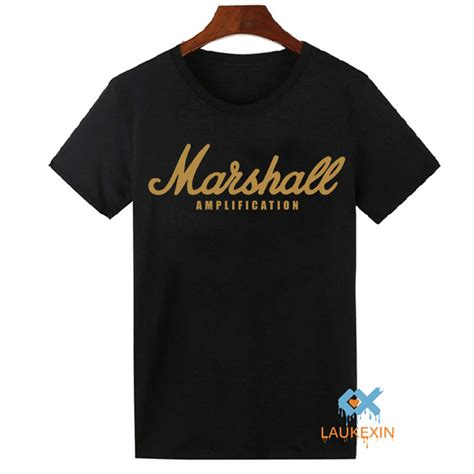 marshall t shirt logo s lification guitar rock cafe muse tops shirts