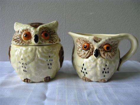 Milk (i used 2%) vanilla extract; Vintage Owl Cream and Sugar Set | Cute owl, Owl, Owl decor
