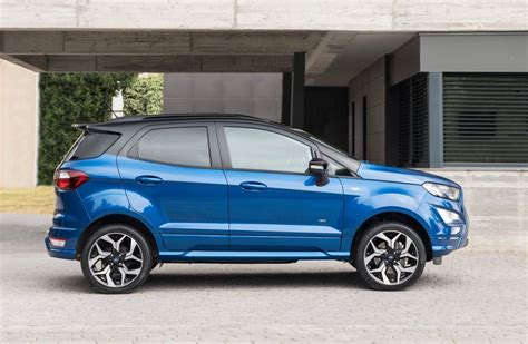 ford ecosport st line 2018 2018 ford ecosport facelift adds awd option st line