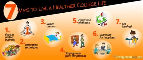 Learn Techniques To Have A Healthy Life In College