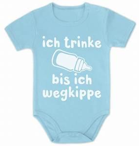 Lustige Baby Bodys : ich trinke bis ich wegkippe lustige witzige baby body kurzarm body babykleidung ebay ~ Frokenaadalensverden.com Haus und Dekorationen