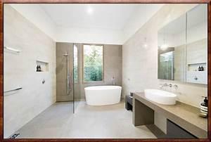 Badgestaltung Ohne Fliesen : moderne badgestaltung mit fliesen zuhause dekoration ideen ~ Michelbontemps.com Haus und Dekorationen