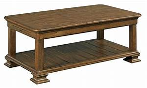 portolone traditional rectangular solid wood cocktail With solid wood rectangle coffee table