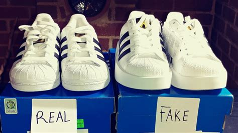 real  fake adidas superstar shoes youtube