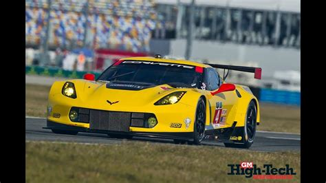 Corvette Racing C7.rs At 24 Hours Of Daytona 2014
