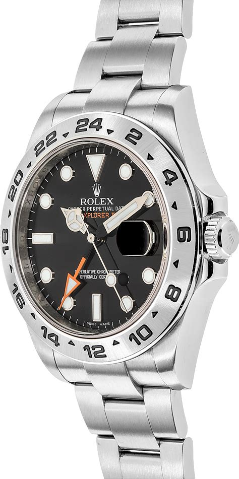 216570 Rolex Explorer II Black Dial Men's Watch