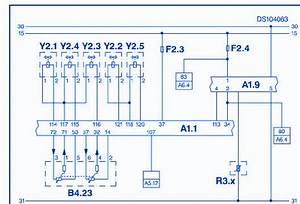 Ssangyong Rexton Rx 2 7 Sx7 Diesel 2007 Electrical Circuit Wiring Diagram