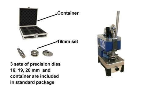 compact disc cutter  coin cell electrodeseparator discs cuttinglithium battery lab machines