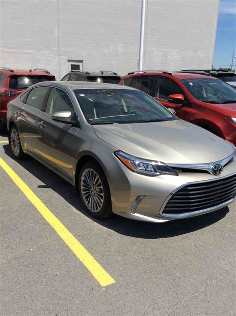 New 2018 Toyota Avalon Limited For Sale In Kingston