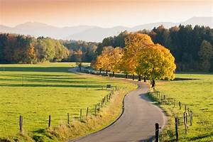 Elise Theme - Winding Country Road through autumnal ...