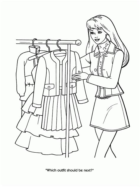 stylish page fashion coloring pages printable coloring home
