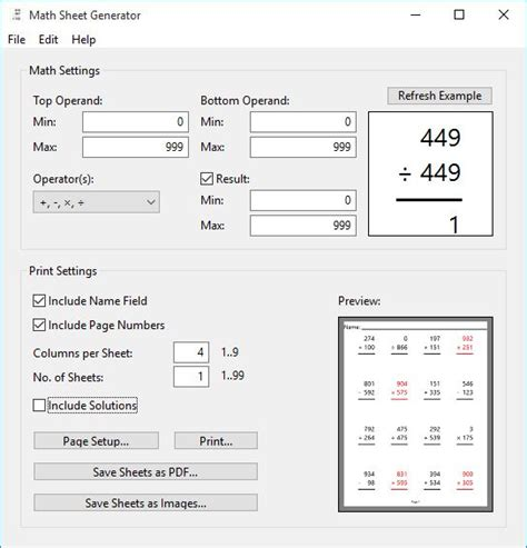 math worksheet builder math worksheet generator