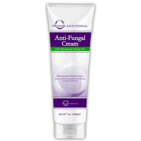 Novana Medical Anti Fungal Skin Cream With Miconazole