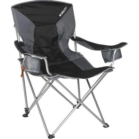 Kelty C Chair by Kelty Deluxe Lounge Chair Black 61510213bk B H Photo