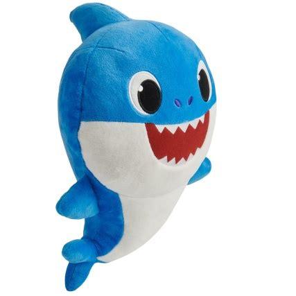 plush baby shark blue animal toys bm
