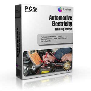 car mechanic basic electronics training course book rom ebay