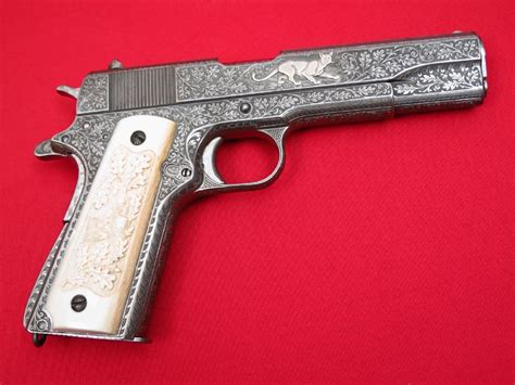Colt 1911a1 Us Army 45 Wwiivintage German Engraving